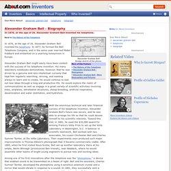 Alexander Graham Bell - Biography