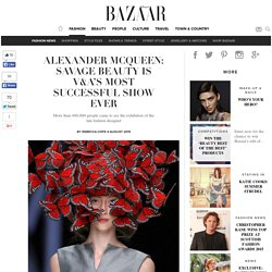 Alexander McQueen: Savage Beauty is V&A's most successful show ever