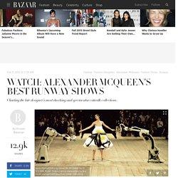 Alexander McQueen's Best Runway Shows of All Time - Remembering Fashion Designer Alexander McQueen