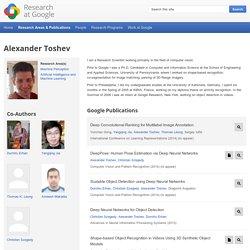 Alexander Toshev