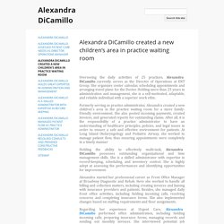 Alexandra DiCamillo