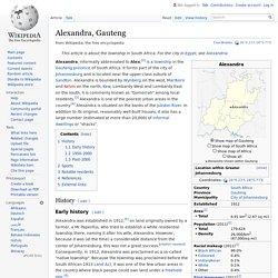 Alexandra, Gauteng