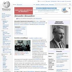 Alexandre Alexandrov
