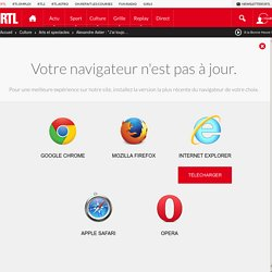 30 jan. 2016 - RTL Le Journal inattendu