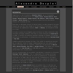 Alexandre Desplat (1961 - )