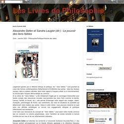 Alexandre Gefen et Sandra Laugier (dir.) : Le pouvoir des liens faibles