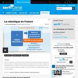 Alexandre Boulègue, La robotique en France - Secteurs & marchés