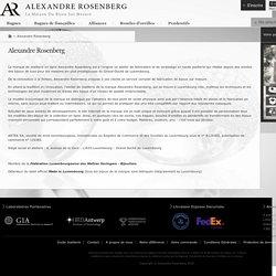 Alexandre Rosenberg Joaillier
