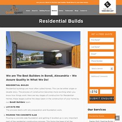 Bondi Alexandria Builders