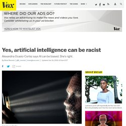 Alexandria Ocasio-Cortez says AI can be biased. She's right.