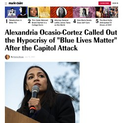 "Alexandria Ocasio-Cortez Called Out ""Blue Lives Matter"" Hypocrisy"