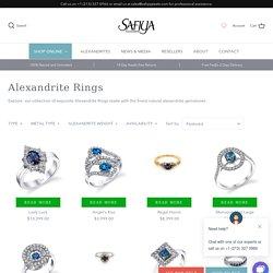 Alexandrite Jewelry buy now