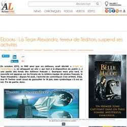 Team Alexandriz, N°1 sur les ebooks FR