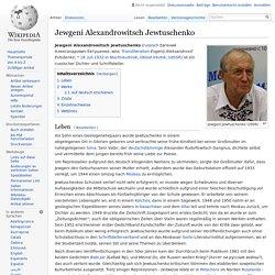 Jewgeni Alexandrowitsch Jewtuschenko