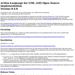 Alf Open Source Implementation