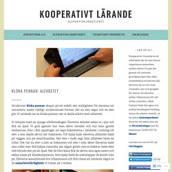 Kloka pennan: Alfabetet – Kooperativt Lärande