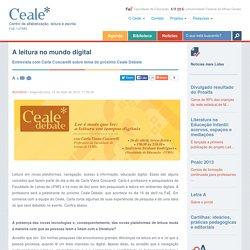 Ceale - Centro de alfabetização, leitura e escrita - UFMG - A leitura no mundo digital