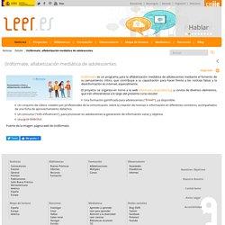 (In)fórmate, alfabetización mediática de adolescentes - (In)fórmate, alfabetización mediática de adolescentes