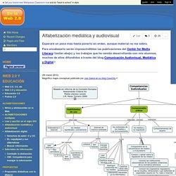Alfabetización mediática y audiovisual