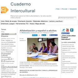 Alfabetización y español a adultos