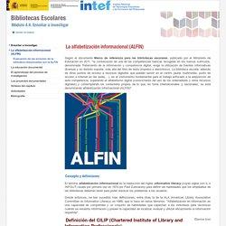 La alfabetización informacional (ALFIN)