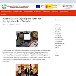 Alfabetización Digital para Personas Inmigrantes. Red Conecta - Buenas Prácticas