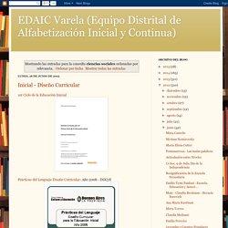 EDAIC Varela (Equipo Distrital de Alfabetización Inicial y Continua): Resultados de la búsqueda de ciencias sociales