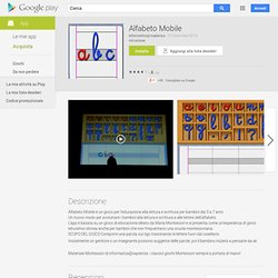 Alfabeto Mobile - App Android su Google Play