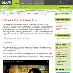 Alfonsina Storni: el dulce daño