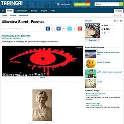 Alfonsina Storni - Poemas