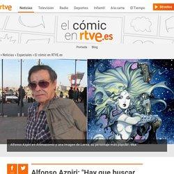 """Alfonso Azpiri: """"Hay que buscar fórmulas nuevas para vender cómics"""""""