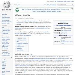 Alfonso Portillo - Wikipedia