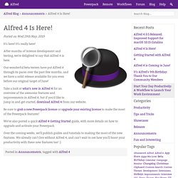 Alfred 4 Is Here!
