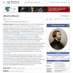Alfred de Musset 1810-1857