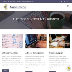 Alfresco CMS, Alfresco Content Management, Alfresco Document Management