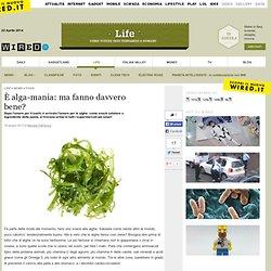 È alga-mania: ma fanno davvero bene?