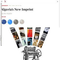Algeria's New Imprint