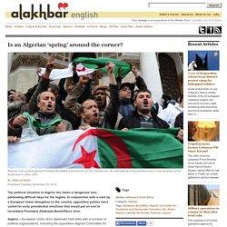 Is an Algerian 'spring' around the corner?