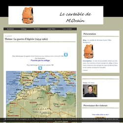 Thème: La guerre d'Algérie (1954-1962)