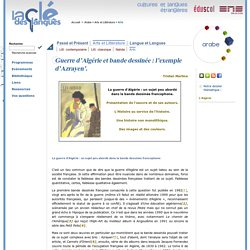 Arabe - Guerre d'Algérie et bande dessinée : l'exemple d'Azrayen'.