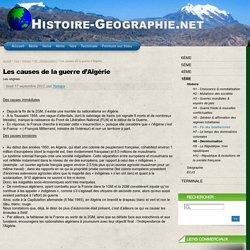 Les causes de la guerre d'Algérie - Histoire-Geographie.net