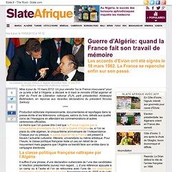 Guerre d'Algérie: quand la France fait son travail de mémoire