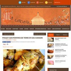 Poulet et pommes de terre en sac cuisson