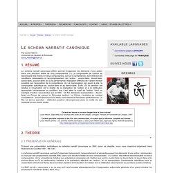 A. J. Greimas : Le schéma narratif canonique