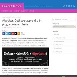 Algoblocs. Outil pour apprendre à programmer en classe