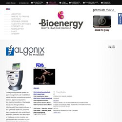 Algonix by medilab - Bioenergy