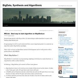 MRJob : Best way to start algorithm on MapReduce
