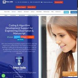 Coding and Algorithm Development Support India UK