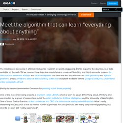"""Meet the algorithm that can learn """"everything about anything"""""""