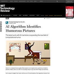AI Algorithm Identifies Humorous Pictures